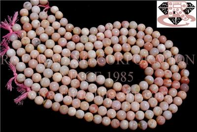 Pink Opal Smooth Round (Quality B)