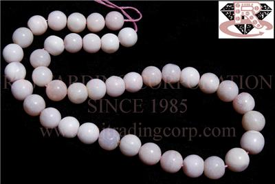 Pink Opal Smooth Round (Quality A)