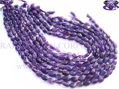 Amethyst (African) Smooth Oval (Quality B)