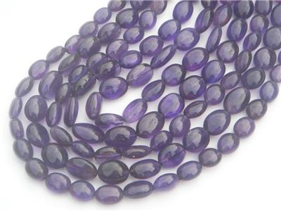 Amethyst (African) Smooth Oval (Quality AA)
