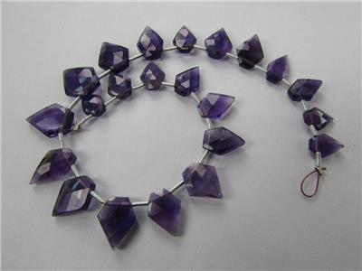 Amethyst (African) Faceted Pentagon (Quality AA)